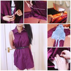 DIY for summer #diy #dress #shirt #jewlery #ideas #stepbystep #handmade