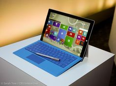The Surface Pro 4 hasn't been officially announced yet, but that hasn't stopped people from comparing it to Apple's new MacBook, which was just announced one week ago. The MacBook . Surface Pro 3, Microsoft Surface, New Tablets, Cold Brew Coffee Maker, Amazon Video, New Macbook, Gifts For Photographers, Laptops, Hammacher Schlemmer