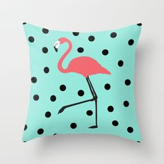 Buy Flamingo Fever by Karen Hofstetter as a high quality Throw Pillow. Worldwide shipping available at Society6.com. Just one of millions of products…