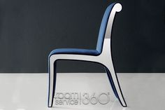 Sensual Contemporary Dining Chair by Costantini Pietro