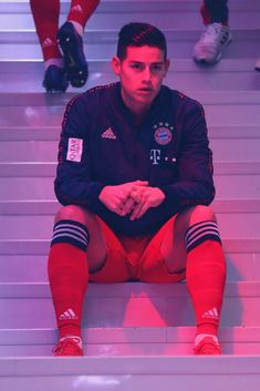 James Rodriguez of FC Bayern Muenchen concentrates at the players' tunnel before the Bundesliga match between FC Bayern Muenchen and VfL Wolfsburg at Allianz Arena on March 2019 in Munich,. Get premium, high resolution news photos at Getty Images Steven Gerrard, James Rodriguez Wallpapers, Premier League, James Rodrigez, James Rodriguez Colombia, Aesthetic Photography Grunge, Real Madrid Soccer, Soccer Photography, Fc Bayern Munich
