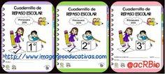Espectaculares Cuadernillos de repaso para vacaciones de verano. Educación Primaria 1º-2º – 3º.
