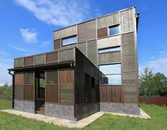 Volga House Russian Home Architecture With an Interesting Patchwork Appearance