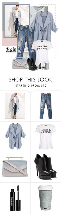 """""""Shein"""" by polybaby ❤ liked on Polyvore featuring WithChic, Topshop, M2Malletier, Edward Bess, Fitz & Floyd and NARS Cosmetics"""