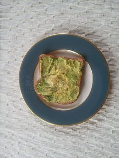 Avocado toast  Our family has been eating avocado toast ever since I was born. Many people in the mid west have never heard of putting avocado on toast. Nothing could be more simple and healthy for you. If you have never tried it  it 's simply delicious. My favorite avocados are the hass variety. They taste like creamy butter.