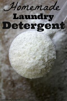Looking for a detergent that is easy, inexpensive, and borax free?  Homemade Laundry Detergent | areturntosimplicity.com