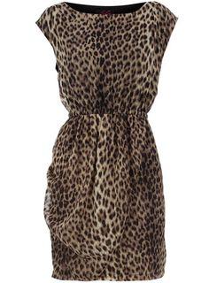 Dorothy Perkins  Leopard wrap skirt dress $29