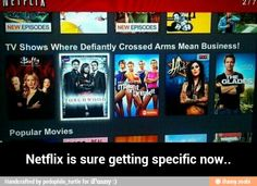 Netflix is sure getting specific now / iFunny :)