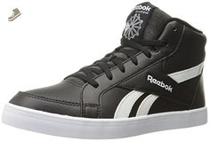 Reebok Women's Royal Kewtee ml Fashion Sneaker, Black/White, 8 M US - Reebok sneakers for women (*Amazon Partner-Link)
