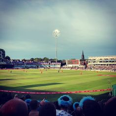 Cricket with the #mcc #yorkshire #yorkshireccc