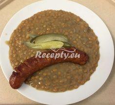 Czech Recipes, Sausage, Food And Drink, Veggies, Menu, Dinner, Drinks, Cooking, Diet