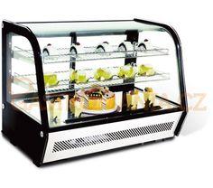Chladící vitrína pultová 160 l | NORDLINE, RTW 160