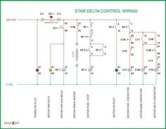 Star Delta Control Panel Wiring Diagram Ceiling Fan With Light Switch Circuit Of Starter Electrical Info Pics Non Engineering Electric Refrigerator