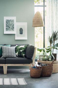 Piccolo vaso in vetro - Verde scuro - HOME | H&M IT