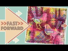 FFWD Friday - Art Journal Page - Embrace - YouTube