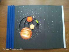 """Наша поделка в школу. Планеты солнечной системы.Выполнена в технике """"бумажный туннель"""".Идею посмотрела здесь,в стрене мастеров. фото 4"""