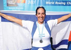 Israel's Samuel captures silver at rowing Worlds #Israel #HolyLand via jpost.com