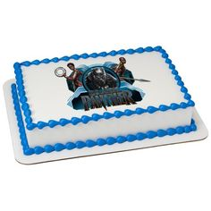 Marvels Black Panther Cake Topper Party Marvel Unicorn Birthday Parties