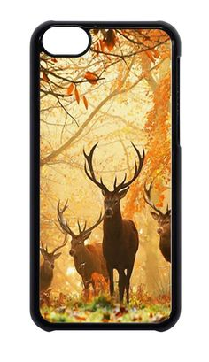 iPhone 4 4s or 5 5s  6 camo wildlife Deer in Woods  case