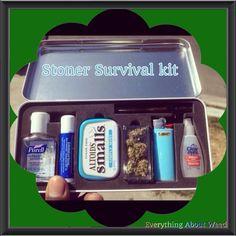 Stoner Survival kit ☮❤✌ Medical Marijuana ☮❤✌ @ ★☆Danielle ✶ Beasy☆★