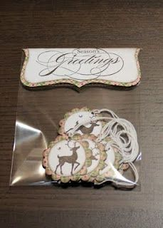 Christmas Gift Tags - Stampin' Up