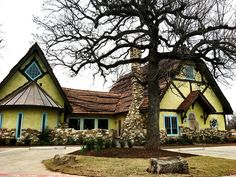 Kimzey's Coffee opens in Argyle this week. The building's architecture was heavily inspired by Hugh Comstock's fairy tale cottages by the sea.
