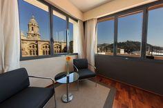 Vista de la habitación AC Hotel Málaga Palacio en #malaga
