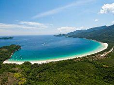 Beleza paradisíaca. A Praia de Lopes Mendes, na Ilha Grande  #paraiso #ilhas #praias