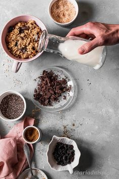 Healthy Banana Bread, Healthy Sugar, Photography Portfolio, Food Photography, Sugar Free Granola, English Food, Perfect Breakfast, Dark Chocolate Chips, Breakfast Recipes