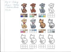 This is Day 6 of my Copic class at onlinecardclasses.com. This class was about coloring animals & textures (tricks using the colorless blender). Very cool!