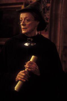 Maggie Smith as Professor McGonagall