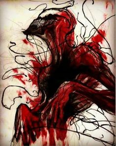 Carnage Marvel Venom, Marvel Art, Marvel Dc Comics, Comic Books Art, Comic Art, Spiderman Pictures, Badass Drawings, Amazing Spider, Comic Covers
