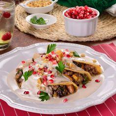 Enchiladas de Chile en Nogada