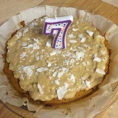 Dog Birthday Cake (grain-free)