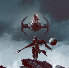 Star Wars Discover Sith Lord vs Mandalorian by Ömer Tunç : ImaginaryJedi