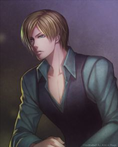 Leon S. Kennedy by roman-ranman on DeviantArt