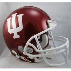 Indiana University Hoosiers Authentic Riddell Helmet - Full Size VSR4 Helmet