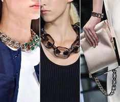 Spring/ Summer 2015 Jewelry Trends: Chains Timothy John New York NECKALCE 2015 TREND LUXURY HOT GLAMOROUS