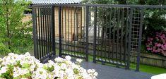 Zelf een flexibele wand maken Fence, Outdoor Structures