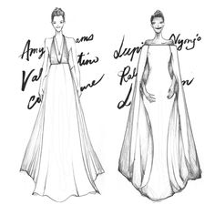 Golden Globes 2014 X Fashionary