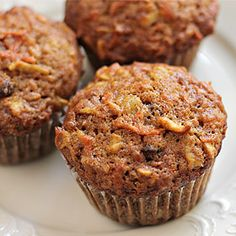 Morning Glory Muffins - these sound absolutely fabulous! I can't wait to try these out!!