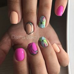 The Butterfly Wing. Spruce up the look of your nails with the microscopic view of butterfly wings, instead of drawing the whole butterfly. It will make the people look twice to admire your art and creativity.