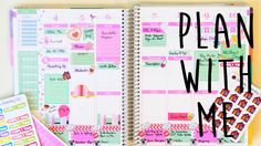 Plan with Me | Pink & Mint Theme
