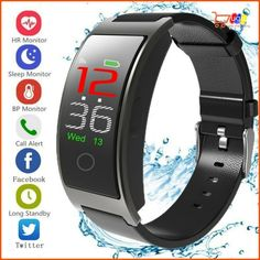 Smart Watch Heart Rate Blood Pressure Monitor Tracker Bracelet US Smart Bracelet, Heart Rate, Blood Pressure, Smart Watch, Monitor, Best Deals, Bracelets, Ebay, Color