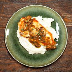 Chicken with Mushroom Sauce | MyRecipes.com