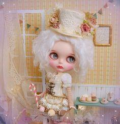 Lamurica ◆ ◇ Custom Blythe ◇ ◆ Baby Macaron  Buy her here:   #blythe #blythedolls #kawaii #cute #rinkya #japan #collectibles #neoblythe #customblythe