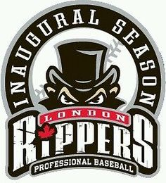 Game worn  infamous London Rippers warm up jersey Frontier League defunct