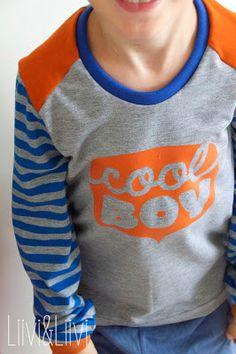 Shirt 'Pepe' - Mialuna Plott 'Cool Boy' - Freebie von Stoff&Liebe bzw. Misses Cherry