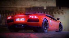 Lamborghini Aventador } Edited