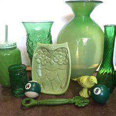 Green Love. #theclutterhouse #localaz #homedecor #green